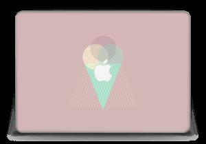 """Jäätelö vanharoosa tarrakuori MacBook Pro Retina 15"""" 2015"""