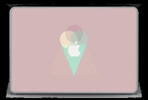 """Jäätelö vanharoosa tarrakuori MacBook Pro 15"""" -2015"""