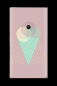 Jäätelö vanharoosa tarrakuori Nokia Lumia 920