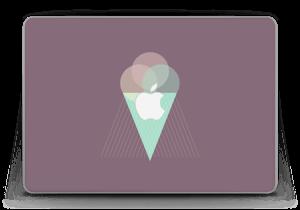 "Boules de glace Violet Skin MacBook Pro Retina 13"" 2015"