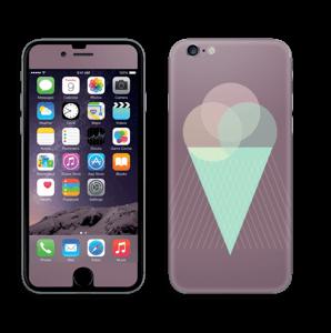 Jäätelö violetti tarrakuori IPhone 6/6s