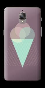 Jäätelö violetti tarrakuori OnePlus 3