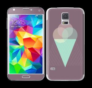 Jäätelö violetti tarrakuori Galaxy S5