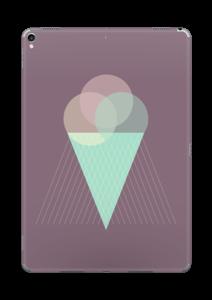 Jäätelö violetti tarrakuori IPad Pro 10.5