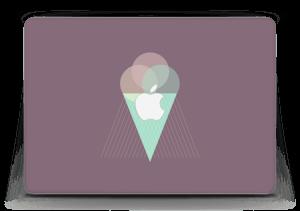 """Jäätelö violetti tarrakuori MacBook Air 13"""""""