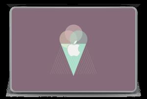 """Jäätelö violetti tarrakuori MacBook Pro 15"""" -2015"""