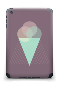 Jäätelö violetti tarrakuori IPad mini 2 back