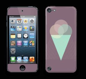 Jäätelö violetti tarrakuori IPod Touch 5th Gen