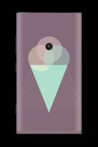Jäätelö violetti tarrakuori Nokia Lumia 920