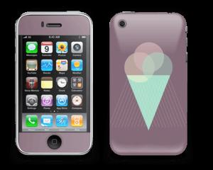 Cucurucho Violeta Vinilo  IPhone 3G/3GS