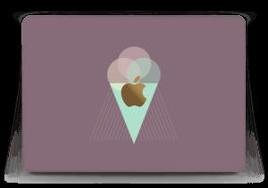 """Boules de glace Violet Skin MacBook 12"""""""