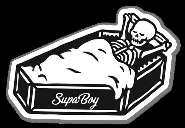 SupaComfy sticker