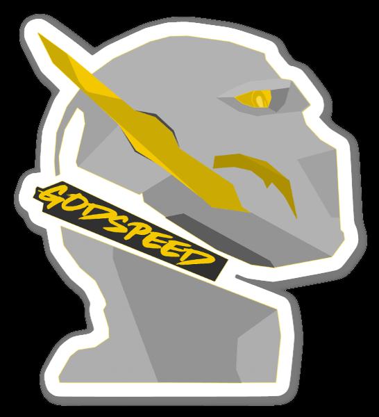 Godspeed  sticker