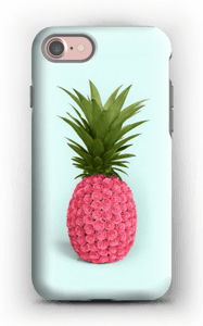 Pinkki ananas kuoret IPhone 7 tough