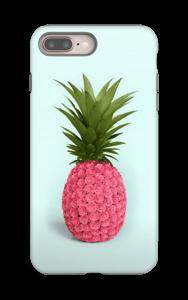 Pinkki ananas kuoret IPhone 8 Plus tough