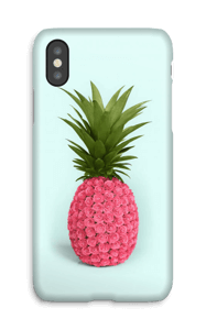 Rosa ananas deksel IPhone X