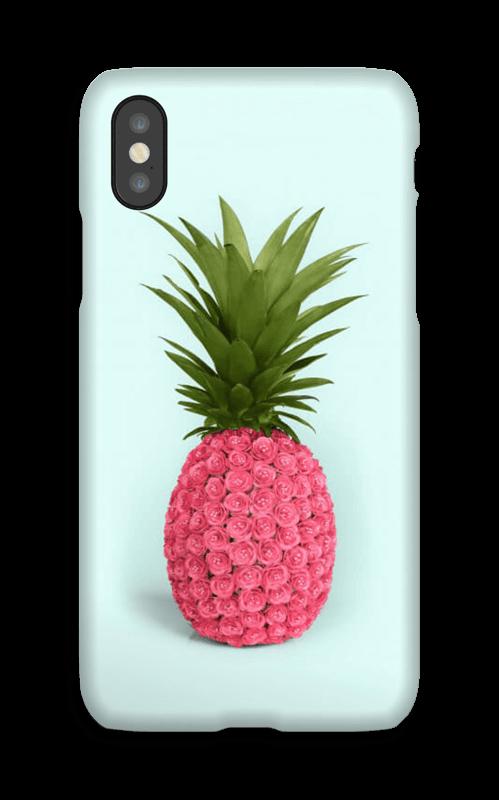 Rosa ananas deksel IPhone X