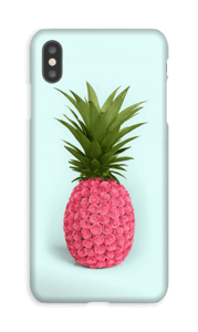 Roze(n) Ananas hoesje IPhone XS Max