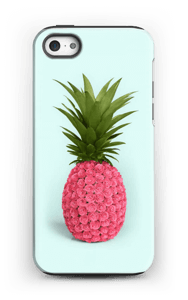 Pinkki ananas kuoret IPhone 5/5s tough