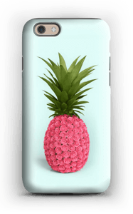 Pink pineapple case IPhone 6s tough