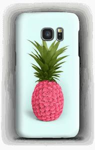 Pinkki ananas kuoret Galaxy S7
