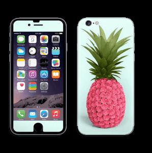 Pinkki ananas tarrakuori IPhone 6/6s