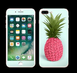 Pinkki ananas tarrakuori IPhone 7 Plus