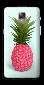 Pinkki ananas tarrakuori OnePlus 3