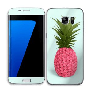 Pink pineapple Skin Galaxy S7 Edge