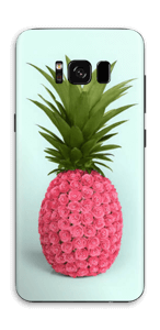 Pink pineapple Skin Galaxy S8