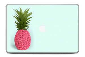 "Pink pineapple Skin MacBook Pro 17"" -2015"