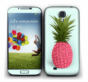 Pink pineapple Skin Galaxy S4