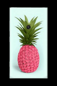 Pinkki ananas tarrakuori Nokia Lumia 920