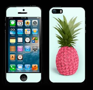 Pink pineapple Skin IPhone 5s