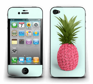 Pineapple rose Skin IPhone 4/4s