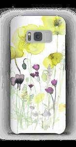 Villblomster deksel Galaxy S8