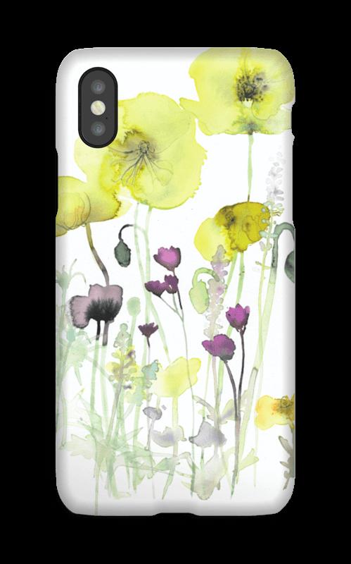 Villblomster deksel IPhone X