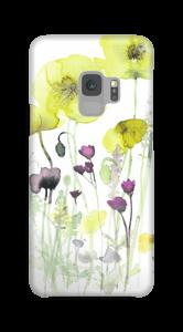 Villblomster deksel Galaxy S9