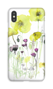Painted Yellow Flowers case IPhone XS Max