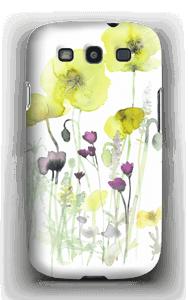 Villblomster deksel Galaxy S3