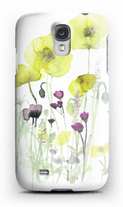 Villblomster deksel Galaxy S4