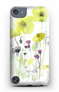 Painted Yellow Flowers case IPod Touch 5