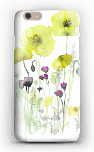 Painted Yellow Flowers case IPhone 6