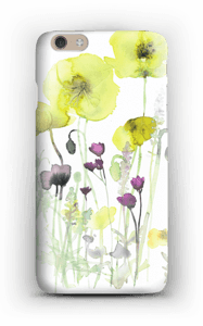Painted Yellow Flowers case IPhone 6 Plus