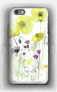 Villblomster deksel IPhone 6 Plus tough