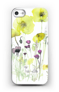 Painted Yellow Flowers case IPhone SE