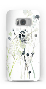 Winterblumen Handyhülle Galaxy S8