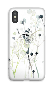 Painted Yellow Flowers case IPhone X