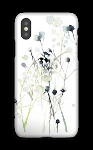Vinterblomster deksel IPhone XS