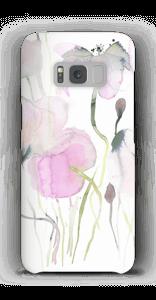 Vesiväri kukkaset kuoret Galaxy S8